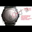 GW-9010MB, GW-9010BP Casio fekete műanyag szíj