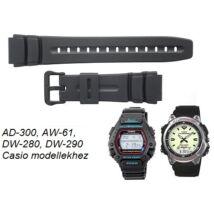AD-300 AW-61 DW-280 DW-290 Casio fekete műanyag szíj b90359fb29