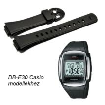 DB-E30-1 Casio fekete műanyag szíj 2d1cbd6e55