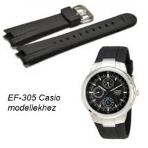 EF-305 Casio fekete műanyag szíj 87e2c2951d