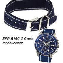 EFR-546C-2A Casio kék szövet szíj b6dbaeb537