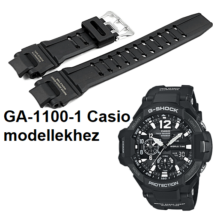 GA-1100-1 Casio fekete műanyag szíj 9635b9711e