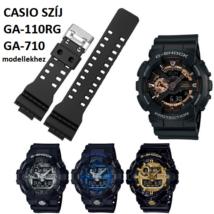 GA-110RG GA-710 Casio fekete műanyag szíj 1d65f2b236
