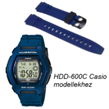 HDD-600C Casio kék műanyag szíj 1d896e287f