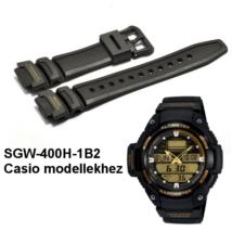 SGW-400H-1B2 Casio fekete műanyag szíj ef5f58ac52
