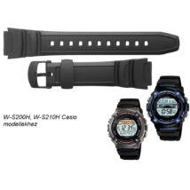 W-S200H W-S210H Casio fekete műanyag szíj 99eea6fb67