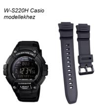 W-S220H Casio fekete műanyag szíj f16c92deca