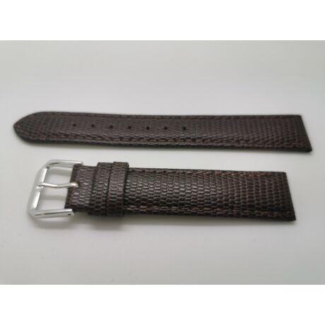 SZ2210 17mm barna színű valódi  bőrszíj Páratlan méret