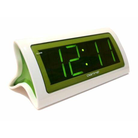 City time 1822Z LED zöld asztali óra