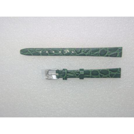 10-es zöld színű valódi bőr óraszíj A5005-10-7 - rkt