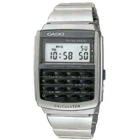 CA-506-1D Casio Calculator Férfi Retro karóra