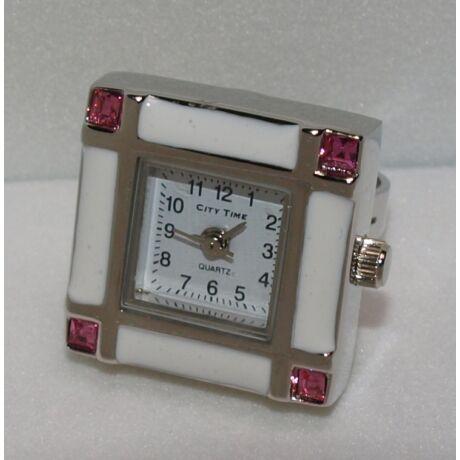 CIGY14 City Time gyűrűóra, kövekkel