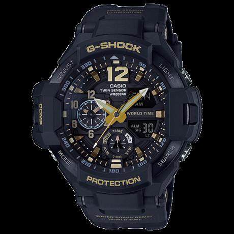 GA-1100GB-1A  Casio G-Shock GRAVITYMASTER  Prémium Férfi karóra