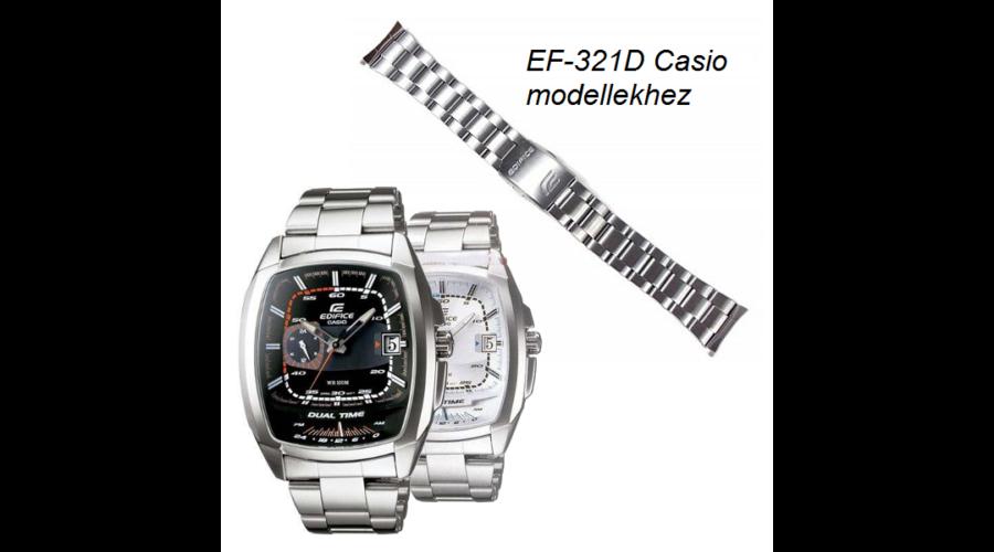 EF-321D Casio fémszíj