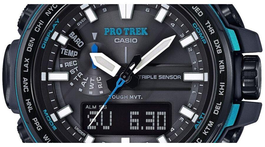 PRW-6100Y-1A Casio Pro-Trek Premium Férfi karóra 97070b2b95
