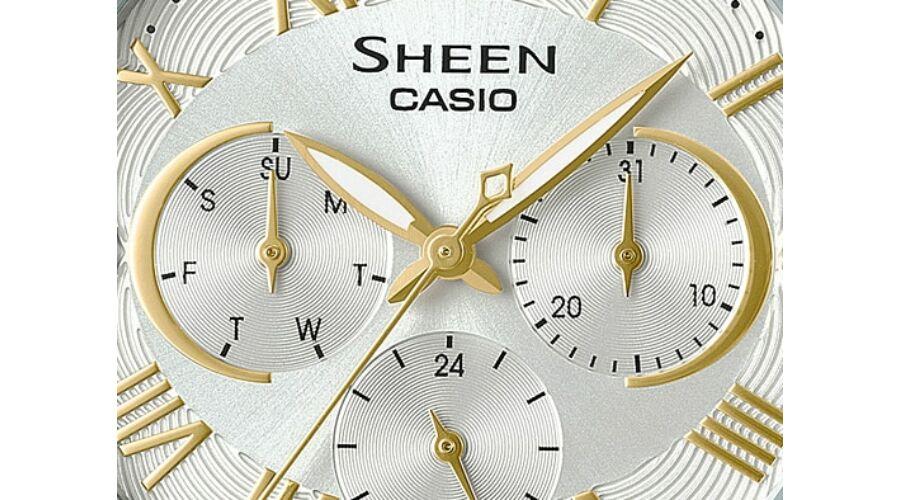 SHE-3058SG-7A Casio Sheen Prémium Női karóra 28f3c5bbae